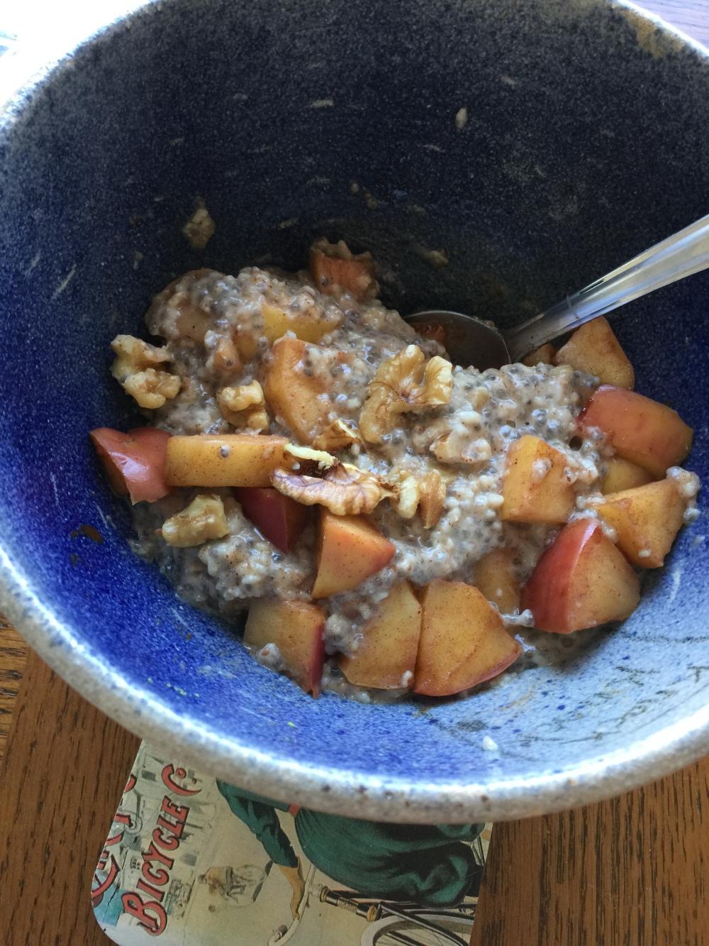 oatsnuts&baked apples